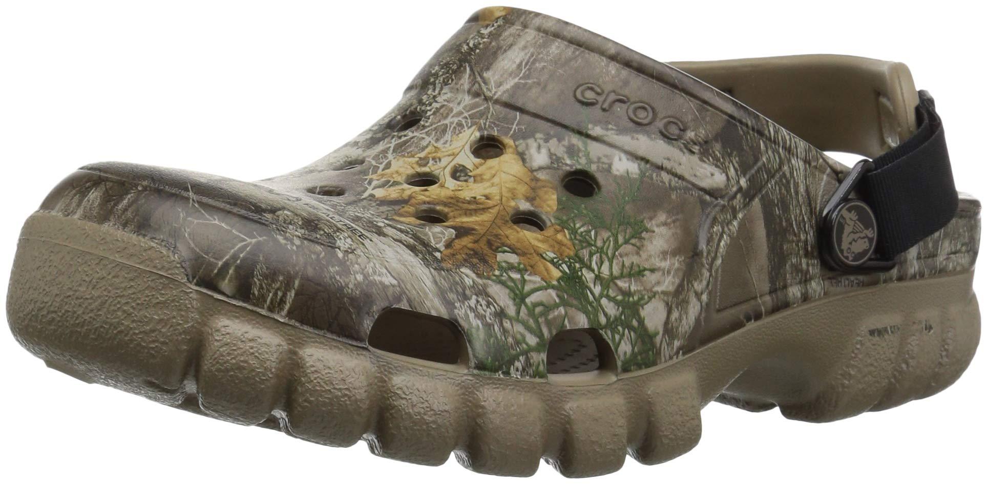 Crocs Offroad Sport Realtree Edge Clog, Khaki, 4 US Men/ 6 US Women M US