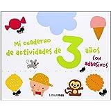 Mi Cuaderno De Actividades De 3 Años (Libros De Actividades)