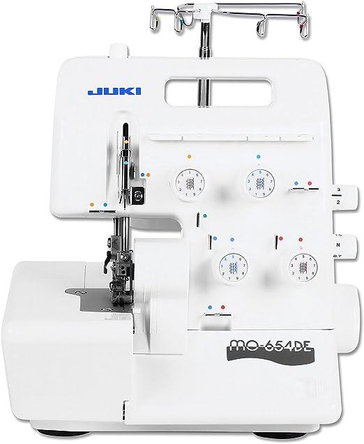 JUKI Mo de 654de – Máquina de coser overlock: Amazon.es: Hogar