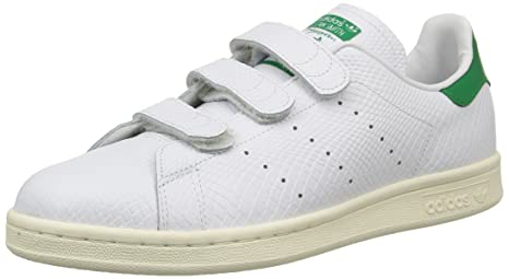 adidas Stan Smith CF - Zapatillas para Hombre, Color Blanco/Verde, Talla 44