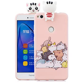 coque huawei p8 lite 2017 chat rose