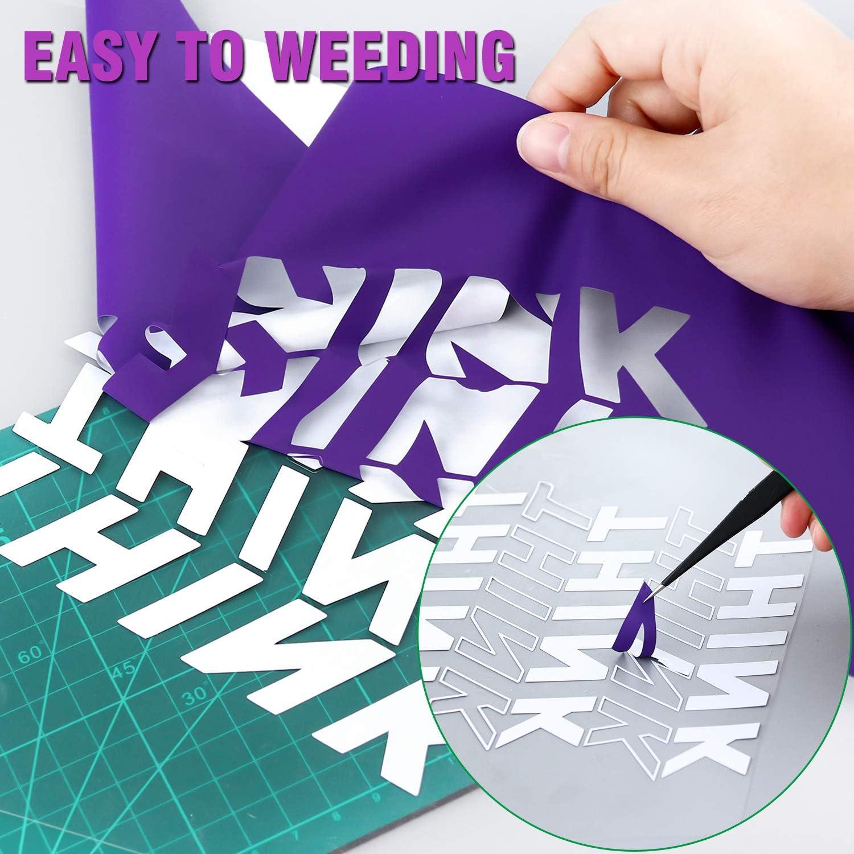 Iron On Heat Transfer Vinyl Purple ARHIKY HTV 12IN x 5FT Roll