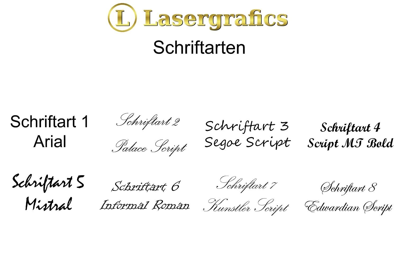Lasergrafics-Shop 3-teiliges Edelstahl Grillset Barbecue mit individueller Gravur