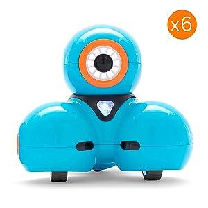 Wonder Workshop Dash Robot 6-Pack for STEM Education