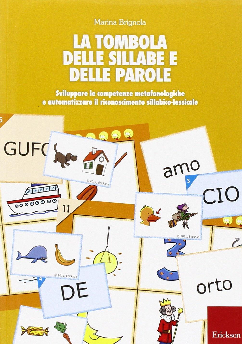 Amazon It La Tombola Delle Sillabe E Delle Parole