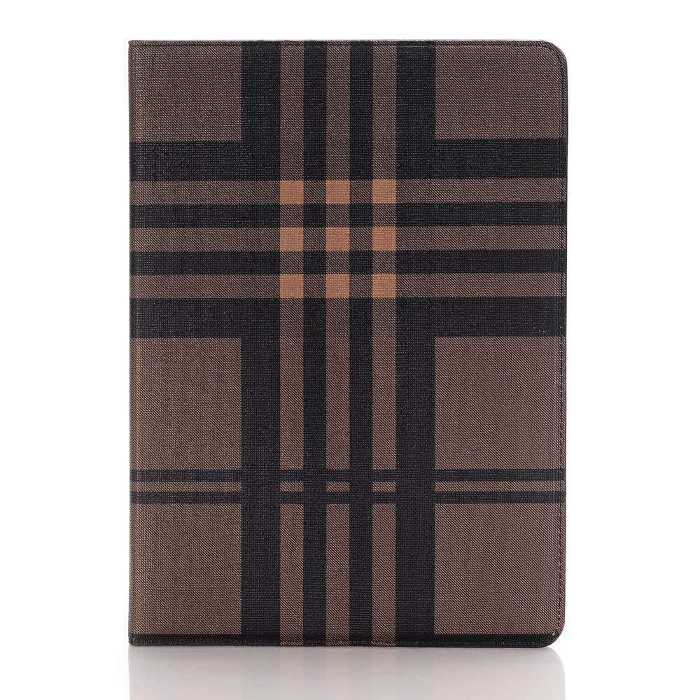 TechCode iPad 9.7 Case 2018/2017, Screen Protective Luxury Bookstyle Folio Case Stand with Card Slots Smart Cover for New iPad 9.7 inch 5th 2017/6th 2018 Tablet, A01 by TechCode