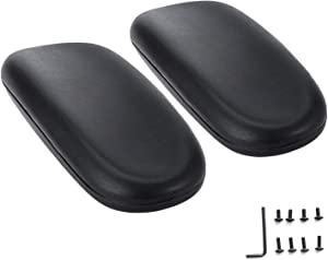 AAGUT Office Chair Armrest Replacement Chair Arm Pads Black 2 Pack (OeArmPad)