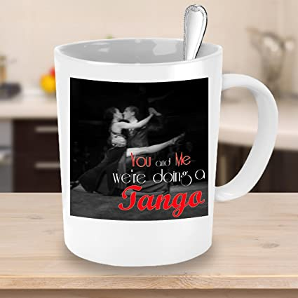 You And Me We Re Doing A Tango Mug Desperate Housewives Tv Show Gift Ideas Fan Shop Amazon Canada