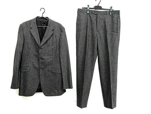 wholesale dealer 995ad 484ac Amazon | (プラダ)PRADA メンズスーツ メンズ ダークグレー ...
