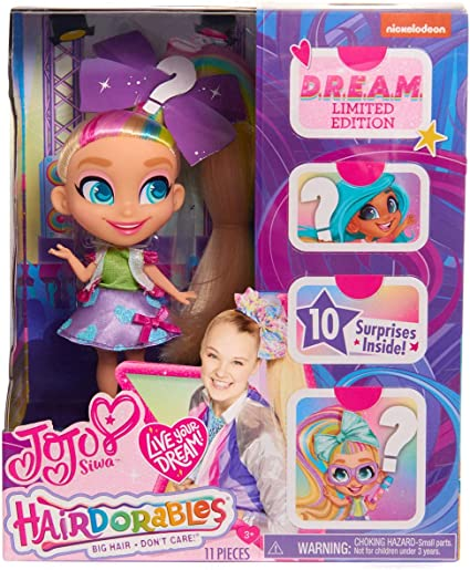 D.R.E.A.M Limited Edition Doll 2019 Hard To Find Toy JoJo Loves Hairdorables