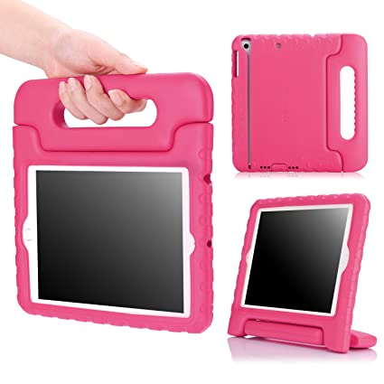 MoKo Case Fit iPad Mini 3/2/1, Kids Shock Proof Handle Light Weight Protective Stand Cover Fit iPad Mini 1 (2012), iPad Mini 2 (2013), iPad Mini 3 ...