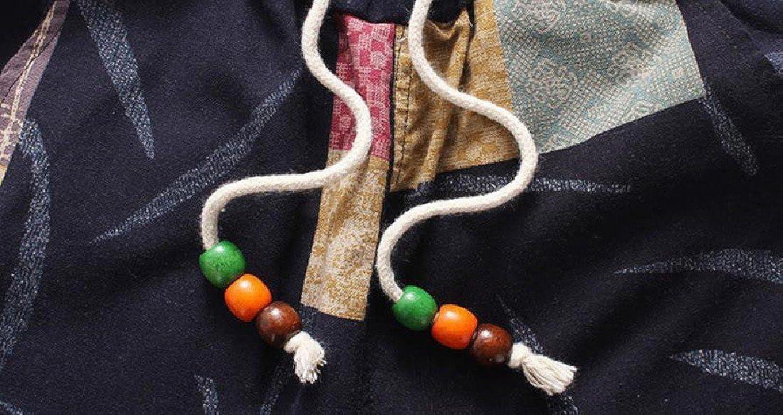 RDHOPE-Men Oversized Ethnic Style Drawstring Slouchy Harem Pant