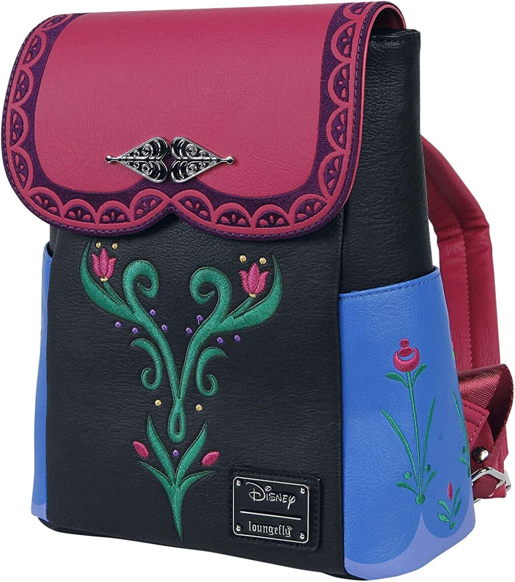 Loungefly x Disney Frozen Anna Cosplay Mini Backpack
