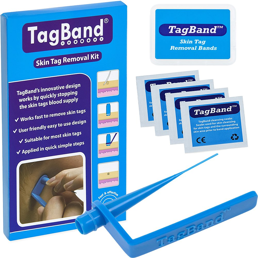 TagBand Skin Tag Removal Device Kit for Medium to Large Skin Tags UK Innovations GP Ltd NA