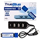Petforu True Blue Mini Pack USB Stick Plug and Play (V5 Pack 203 Games)