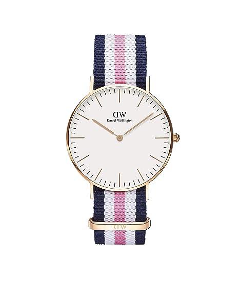 Daniel Wellington 0506DW - Reloj con correa de acero para mujer ... bf255574b2b4
