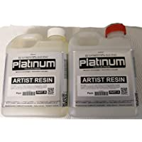 Artist EPOXY RESIN - 1:1 ULTRA CLEAR coating. UV StabilIsed 500ml kit