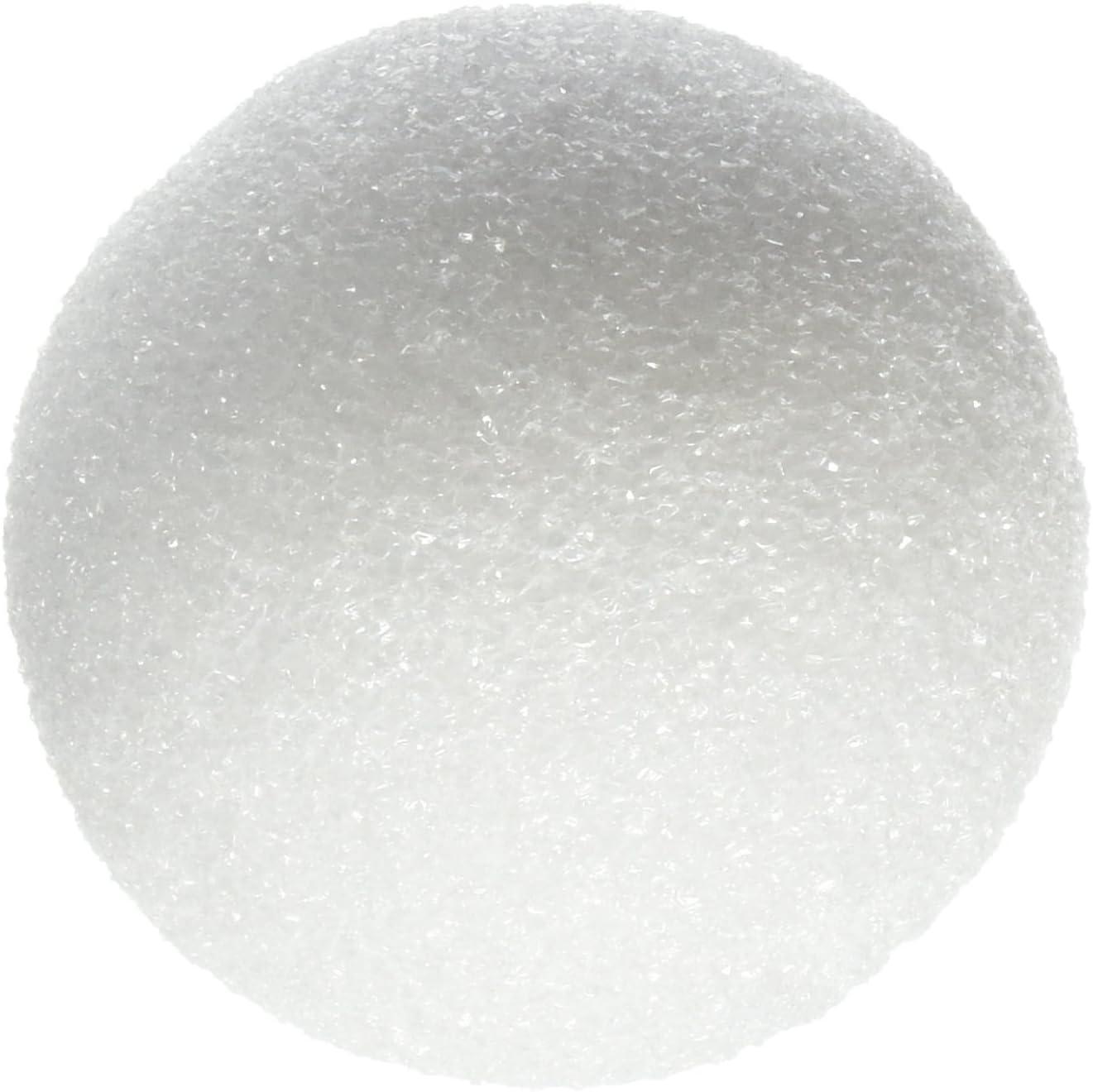 "36pcs White Round Foam Polystyrene Balls Crafts Project Spheres 1.5/"" Flower Ball"
