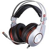 XIBERIA K5 Gaming Headset Clear Sound Surround con l'alta sensibilità omnidirezionale microfono a condensatore