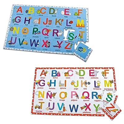 Ingenio Bilingual Learning Puzzle - Alphabet: Toys & Games