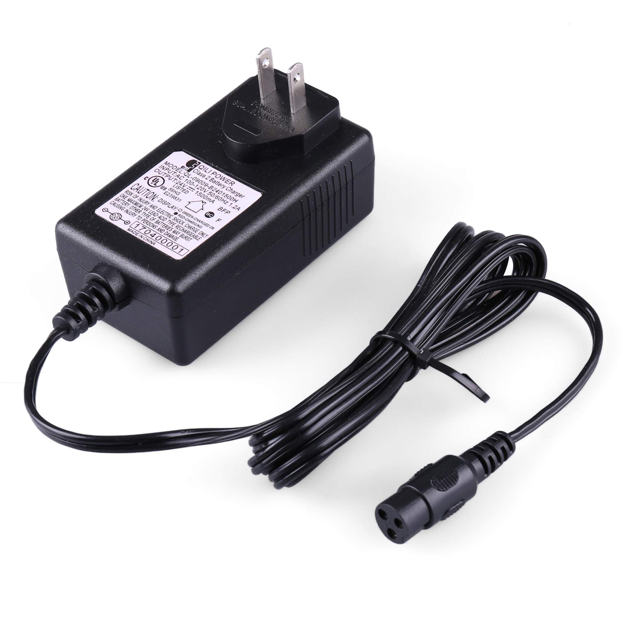 Razor Battery Charger for the e200, e300, PR200, Pocket Mod, Sports Mod, and Dirt Quad by Razor