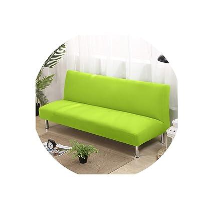 Amazon.com: Futon Slipcovers Funda de sofá cama sin brazos ...