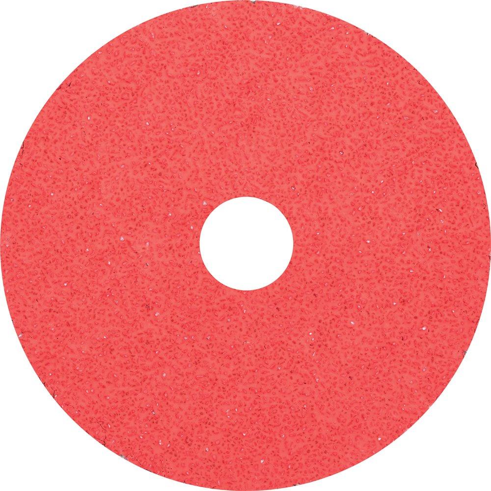 13300 RPM 7//8 Arbor Hole 4-1//2 Diameter Pack of 25 PFERD 62416 Fibre Disc 24 Grit Ceramic Oxide Co-Cool