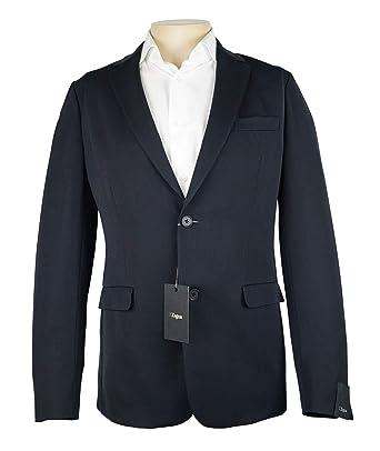 792437d2e Amazon.com: Z Zegna Dark Navy Blue Solid Jacket 100% Wool New Size ...