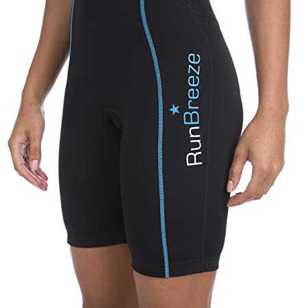 RunBreeze Womens Triathlon Suit | Breathable, Quick-Drying Tri Suit with Dual Rear Pockets