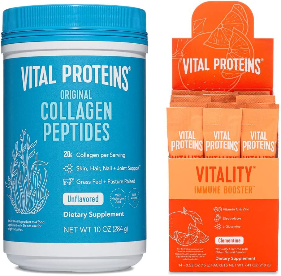 Original Collagen Peptides & Vitality Immune Booster