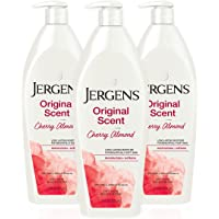Jergens Original Scent Body Lotion, Dry Skin Moisturizer with HYDRALUCENCE blend and Cherry Almond Essence, for Long…