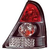 AutoStyle 1600–33298 arrière lED pour renault clio iI modèles 08/1998–2001 (noir)
