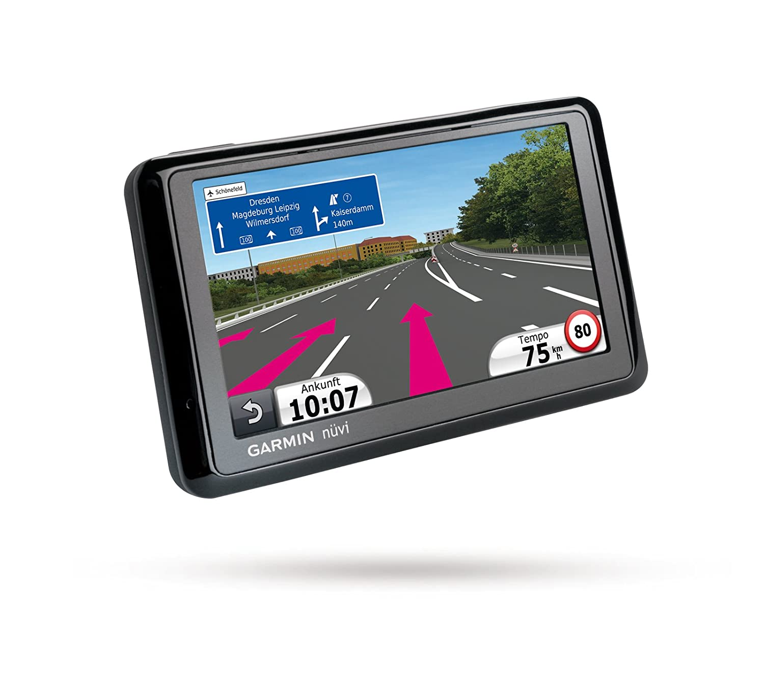 Amazon com garmin nuvi 1370 1370t 4 3 inch widescreen bluetooth gps navigator with maps of north america europe and lifetime traffic discontinued by