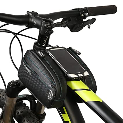 96e263c2b95 COTEetCI Waterproof Bicycle Bag MTB Bike Bag Front Top Tube Bag Bycicle  Accessories with Phone Case