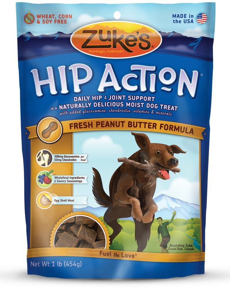 Zuke s Hip Action Natural Dog Treats