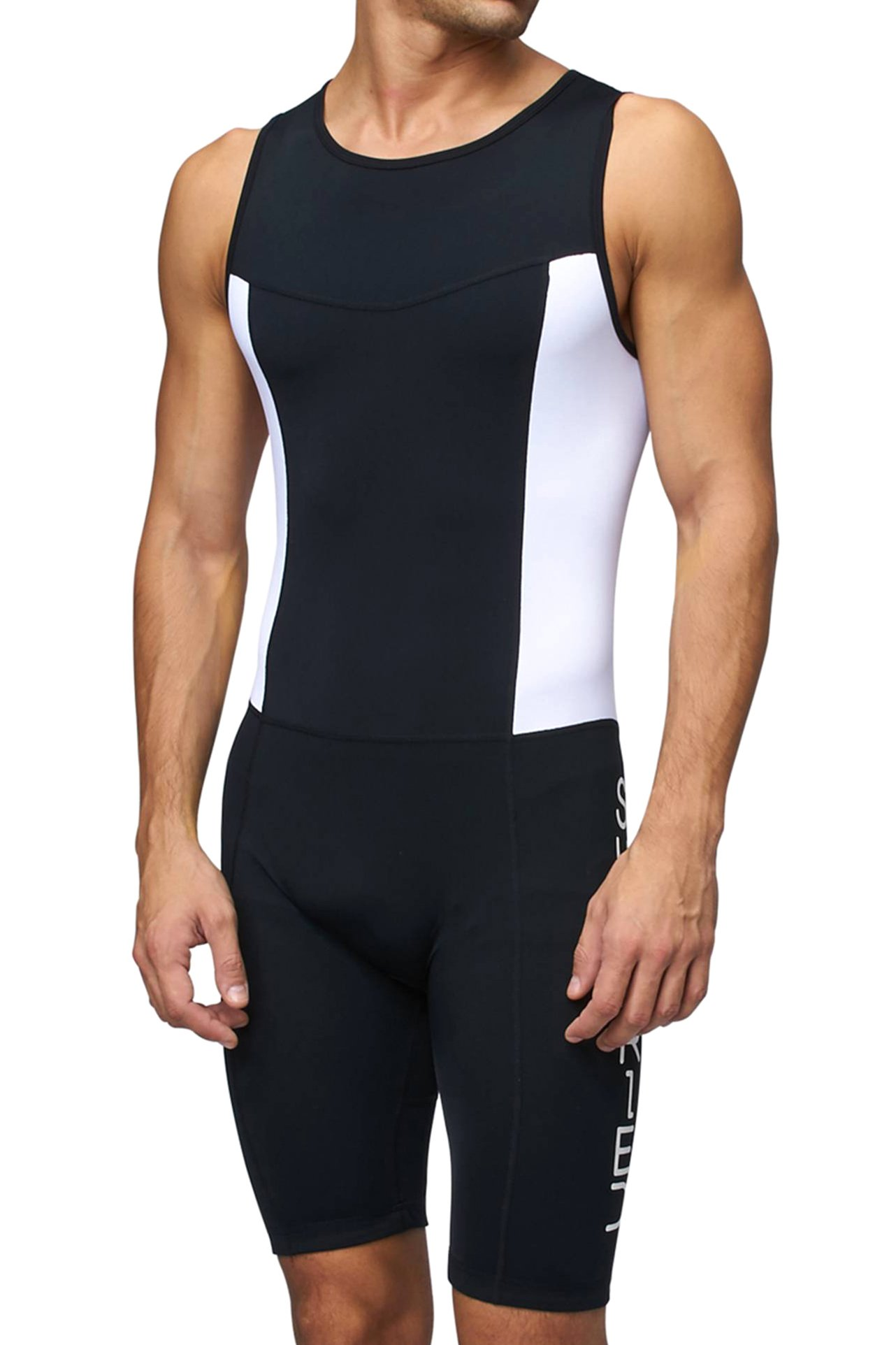 Sundried Mens Premium Padded Triathlon Tri Suit Compression Duathlon Running Swimming Cycling Skin Suit (XX-Large)