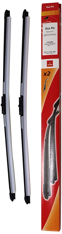 Accesorios 8671018239 Jue de Dos Escobillas Limpiaparabrisas: Amazon.es: Coche y moto