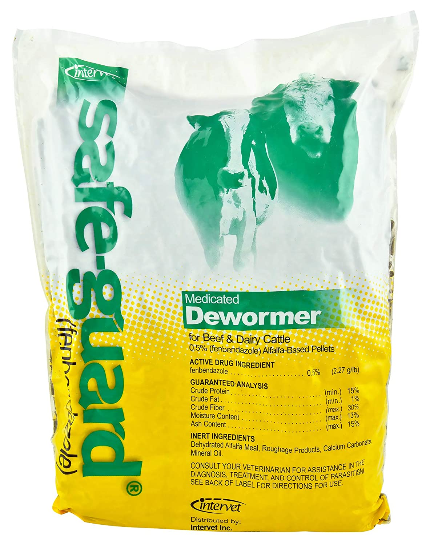 Intervet Inc / Merck Safeguard Pelleted Cattle Dewormer (0.5%), 10 lb