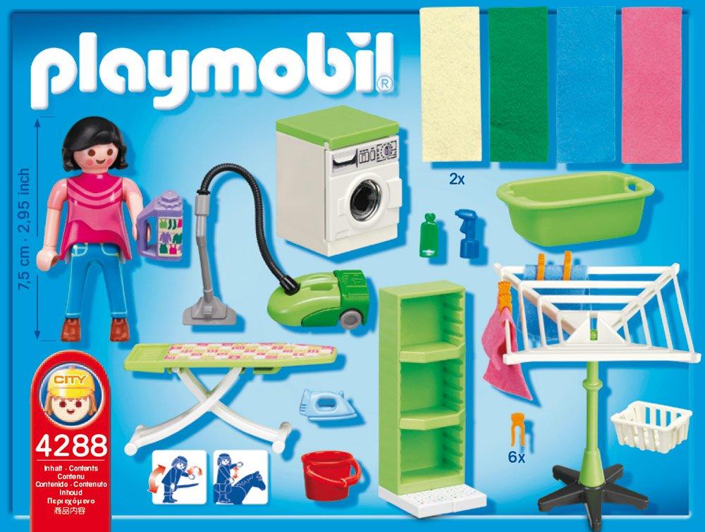 Amazon.de:PLAYMOBIL 4288 Hauswirtschaftsraum