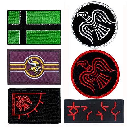 Apliques bordados accesorio de bricolaje 10 UNIDS Vinland Viking ...