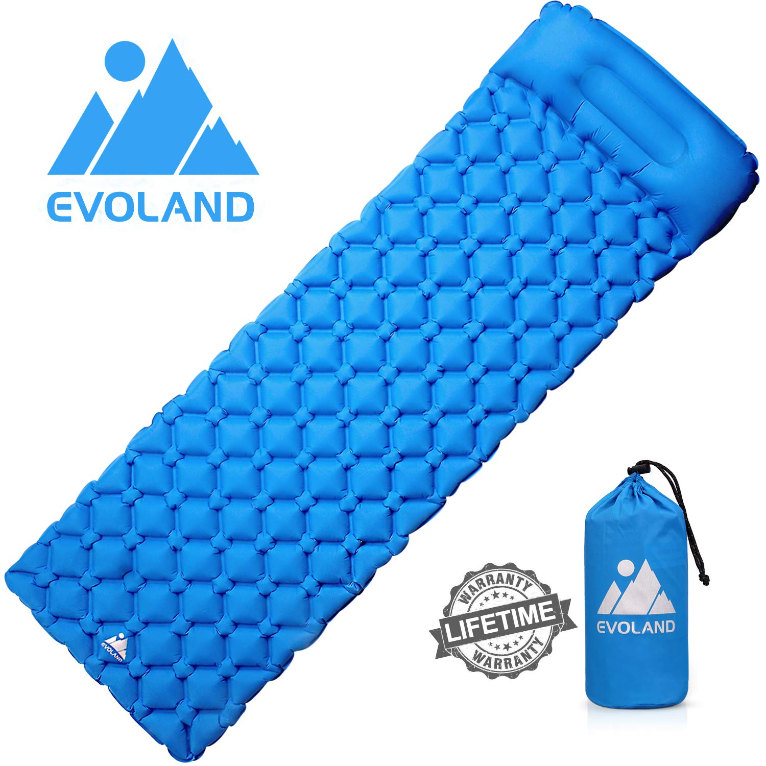 OUSPT Inflatable Sleeping Mat,Camping Inflatable Sleeping Pad Camping Mattress U