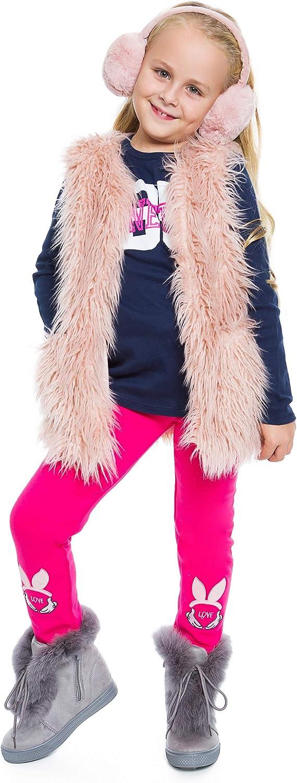 HI!MOM Thick Girls Children Leggings Fleece Inside Cotton Full Length Kids S2811B-4