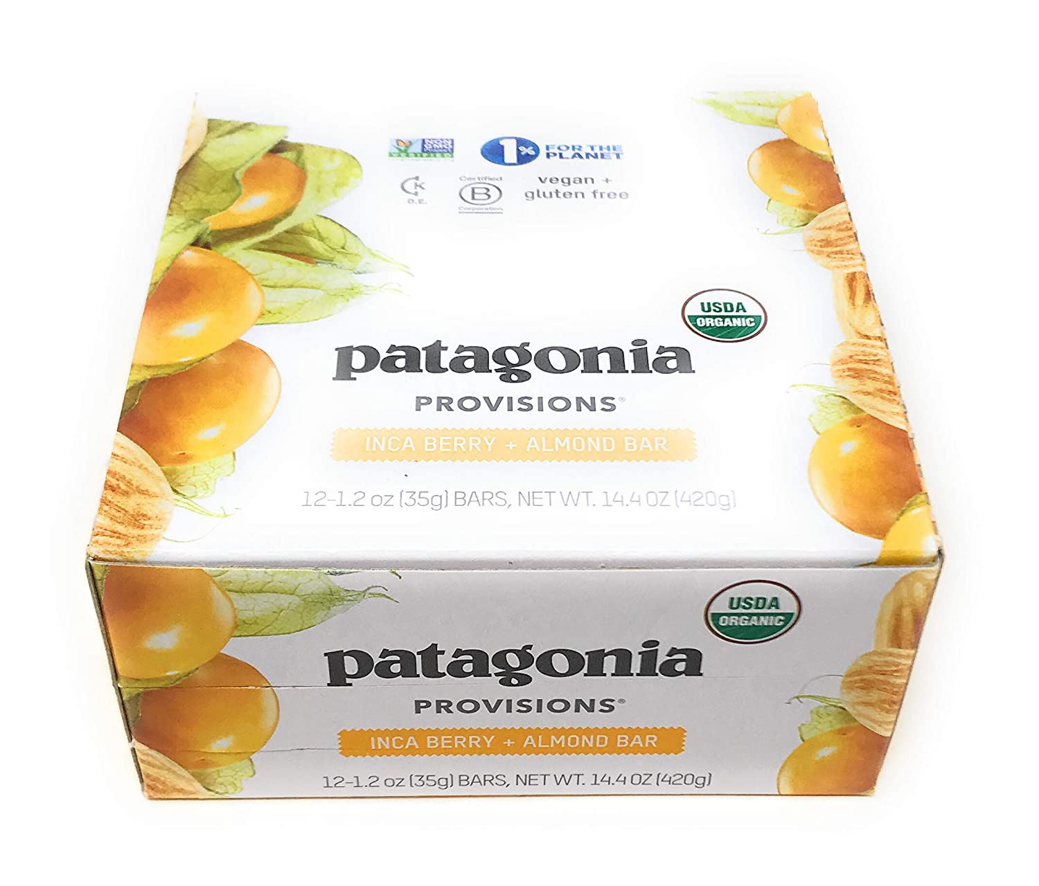Patagonia Provisions, Bar Inca Berry Almond, 1.2 Ounce, 12 Count