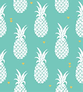 Qewhyn Pineapple Poster Pineapples Fun Sweet Ananas Art Color Drawing Exotic Food Fresh Wall Art Painting Print Home Artwork Decoration for Living Room Bedroom Office Unframed 24x36 lnches