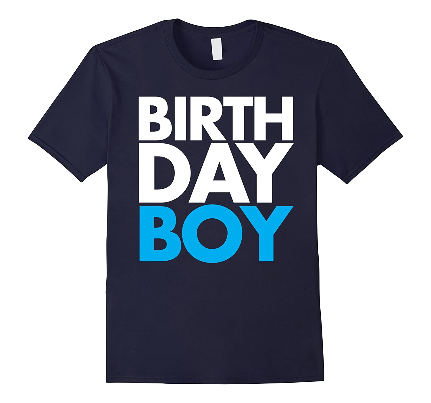 Birthday Boy Blue Party T-Shirt Men's, Women's, & Youth-CL