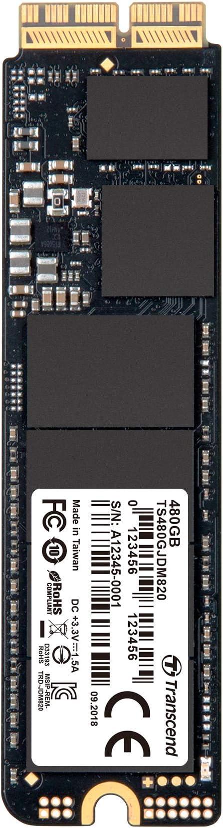 Transcend JetDrive 820 - Kit de disco duro sólido interno SSD 480 ...