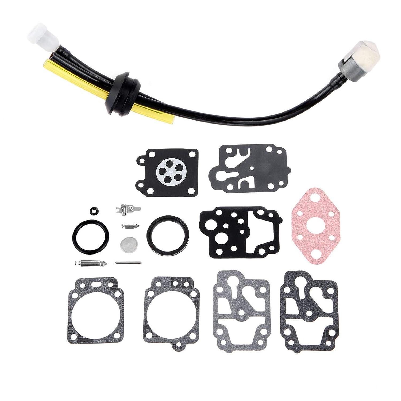 LDCREE Motosierra Carburador Carb Kit de reparación de ...