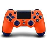 DualShock 4 Wireless Controller for PlayStation 4 - Sunset Orange (Color: Sunset Orange)