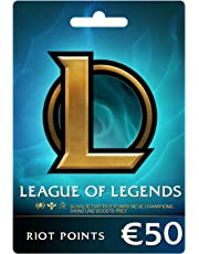 League of Legends €50 Prepaid Gift Card (7200 Riot Points)