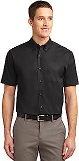 Port Authority Men's Short Sleeve Easy Care Shirt Short Sleeve Easy Care Shirt S508-Men's